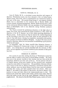 Biographical History of Westchester County, New York., Volume 2, Page 123   Document Viewer