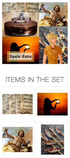 """Round 1: Introduction, Apollo Cabin - Crystal"" by crystal-crest on Polyvore featuring art and BattleoftheCHBCabins"