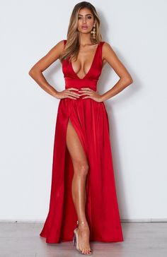 Best Party Dresses alice and olivia dresses low cut dress lehenga designs for girls Outfit Vestido Rojo, Red Dress Outfit, Dress Outfits, Red Dress Shoes, Red Dress Casual, Princess Prom Dresses, Prom Dresses Uk, Sexy Dresses, Party Dresses