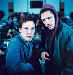 with Tom Hardy in Stuart: A Life Backwards OMG Benedict Cumberbatch AND Tom Hardy? YES PLEASE!!!