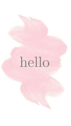 Hello and welcome to you!