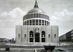 Foto storiche di Roma - Basilica di San Giovanni Bosco Anno: Post 2 Maggio 1959, giorno dell'inaugurazione
