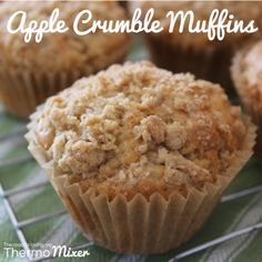 Apple Crumble Muffins – The Road to Loving My Thermo Mixer