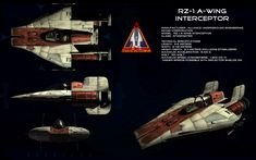 A-Wing ortho by unusualsuspex on DeviantArt