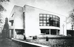The Vesnin brothers' ZIL Palace of Culture in Moscow, 1931