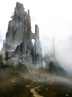 Concept Fantasy Architecture and ..