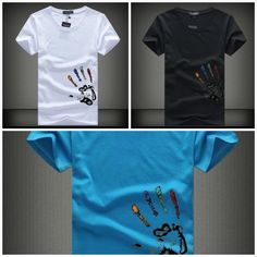 Summer t-shirt Hands of love Compression T Shirt, Men Beach, Summer Tshirts, Tshirt Colors, Short Sleeves, Ootd, Hands, Mens Fashion, Mens Tops