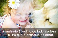 """""""A amizade é, acima de tudo, certeza - é isso que a distingue do amor."""" #Amizade"""