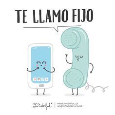 Te llamo fijo #Mr.Wonderful