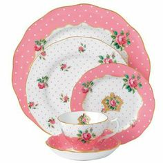 Royal Albert - Country Roses Cheeky Pink Vintage