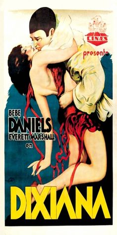Dixiana 1930 /  In antebellum New Orleans, two men view for the affections of a beautiful young girl during Mardi Gras.  Director: Luther Reed Writers: Luther Reed (adapted by), Anne Caldwell (story),  Stars: Bebe Daniels, Everett Marshall, Bert Wheeler