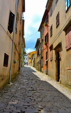 #street #motovun #croatia