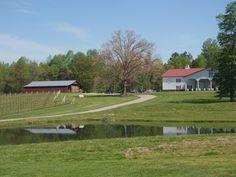 Laurel Gray Vineyards - Hamptonville, North Carolina...Where Joseph proposed.  Love my sweet husband!