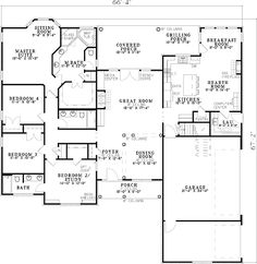 Hunting rooms  Hunting and Floor plans on PinterestI love this floor plan  It    s nearly perfect  LOVE the hearth room   the