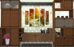 Sims 4 CC's - The Best: Autumn Paintings by The Nirvana Sims