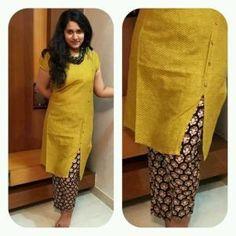 Simple but classy look in all colors Salwar Pattern, Kurta Patterns, Dress Patterns, Pakistani Dresses, Indian Dresses, Indian Outfits, Indian Attire, Indian Wear, Indian Style
