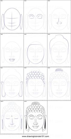 Buddha is the founder of Buddhism and he was born in Nepal. He is also famous with his other name Siddhartha Gautama. Buddha is the founder of Buddhism and he was born in Nepal. He is also famous with his other name Siddhartha Gautama. Art Buddha, Buddha Drawing, Buddha Kunst, Buddha Face, Buddha Decor, Buddha Canvas, Body Drawing, Drawing Art, Budha Painting