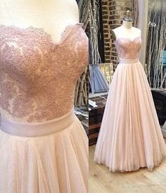 Pink+lace+tulle+long+prom+dress,+pink+lace+evening+dress  Please+double+check+above+size+and+consider+your+measurements+before+ordering,+thank+you  1:FOR+CUSTOM+SIZE+What+MEASUREMENTS+ARE+NEEDED+FOR+CUSTOM+MADE+DRESS?  (1).+For+long+dress+ Shoulder+to+shoulder:+_______cm/inches+ Bust____c...