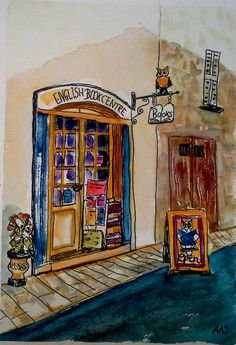 The English Book Centre in Valbonne