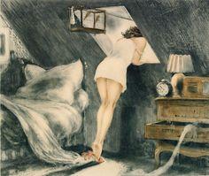 Louis Icart: Símbolo del Art Decó y el glamour - Trianarts