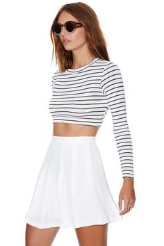 Nasty Gal Pleatest Taboo Skirt