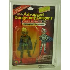 dungeons and dragons, Action | ADVANCED DUNGEONS AND DRAGONS CARDED FIGURE GRADING