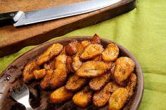 Receita: Kelewele (banana da terra frita e temperada)