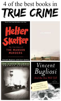 4 great True Crime books | hollywood housewife