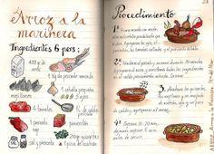 Gastro Andalusi ♥ Recetas paso a paso: Arroz a la Marinera