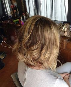 New Blonde Balayage Short Hair | http://www.short-hairstyles.co/new-blonde-balayage-short-hair.html