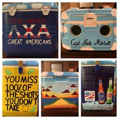 Frat cooler, frat cooler ideas, lambda chi alpha, airplane cooler