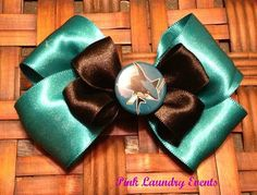San Jose Sharks Hairbow Clip by PinkLaundryEvts on Etsy, $6.50