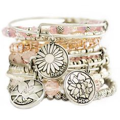 Shop all ALEX AND ANI jewelry collections, including sports bracelets, movie & TV-inspired bangles, symbol & initial necklaces & much more! Alex And Ani Jewelry, Alex And Ani Bracelets, Alex And Ani Mom, Alex Ani, Jewelry Accessories, Women Jewelry, Unique Jewelry, Western Jewelry, Gemstone Necklace