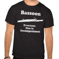 Funny Bassoon Gift Shirt #basoon #funny