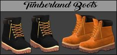 LumySims: Timber Boots • Sims 4 Downloads