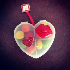 Corazón ideal para rellenarlo de tus dulces favoritos #SanValentin