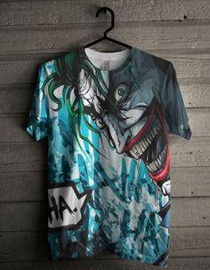 Camisa Coringa A Piada Mortal Esquadrão Suicida  - HQ CITY