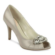 Pink Paradox Tender Taupe Satin Shoes