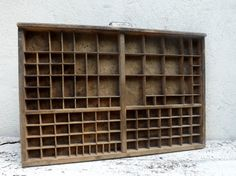 French vintage printers tray letter press by Daisyrootsfrance