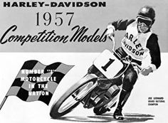 Harley-Davidson Museum Shop - 1957 Catalog Cover : Posters and Framed Art Prints Available