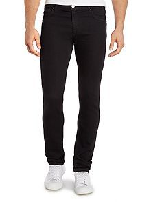Tiger slim fit black jean