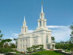 lds temples | Fortaleza Brazil LDS (Mormon) Temple Photograph Download #1