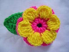 Sapatinhos Para Bebê - Life Baby: PAP Flor em Crochê
