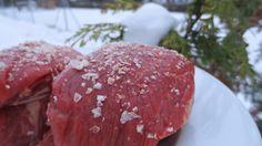 Schnee-Filetsteak