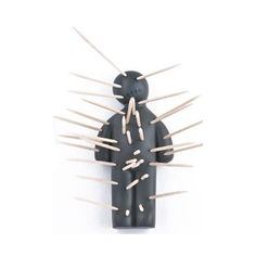 1000 images about toothpick holders party picks on pinterest forks shark tooth and army men - Voodoo toothpick holder ...