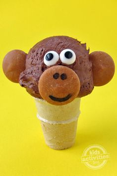Ice Cream Monkeys! We love these edible little monkeys and they are the perfect summer treat for kids.