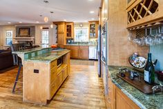 Kitchen - 7725 Nesbit Ferry Road, Sandy Springs, GA - Charming Renovated/Updated Cape Cod w/ Tons of Character on a Gorgeous Private Lot! Bright Open Spacious Floor Plan Ideal for Entertaining * KAREN CANNON REALTORS, INC. Specializing in #Dunwoody & #SandySprings - Contact us today at 770-352-9658 or email: info@KarenCannon.com or Visit: KarenCannon.com