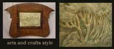 more quartersawn oak framed tiles