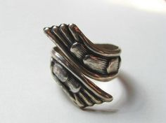 Sterling Silver Ring Mexico by NorthShoreAntiques on Etsy