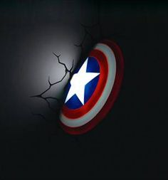 New in! Marvel Comics 3D Captain America Shield Wall Lights now in stock! Make a Marvel-ous statement with this bold Captain America Shield wall light! It looks just like the patriotic superhero has...